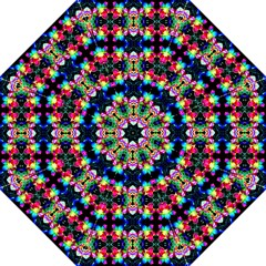 Colorful Bright Seamless Flower Pattern Straight Umbrellas by Costasonlineshop