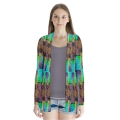 Abstract Square Wall Cardigans