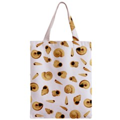 Shell Pattern Zipper Classic Tote Bag by Valentinaart
