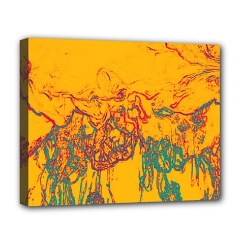 Colors Deluxe Canvas 20  X 16   by Valentinaart