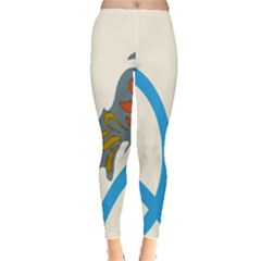 Butterfly Leggings  by Mariart