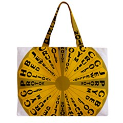 Wheel Of Fortune Australia Episode Bonus Game Zipper Mini Tote Bag by Mariart