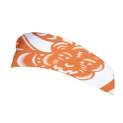 Chinese Zodiac Signs Tiger Star Orangehoroscope Stretchable Headband