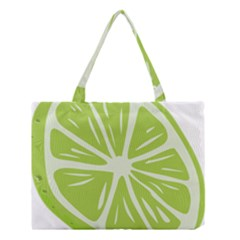 Gerald Lime Green Medium Tote Bag by Mariart