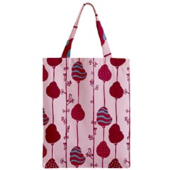 Flower Floral Mpink Frame Zipper Classic Tote Bag by Mariart