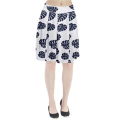 Leaf Summer Tech Pleated Skirt by Mariart