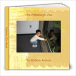 Robbie s Zoo Book - 8x8 Photo Book (30 pages)