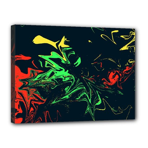 Colors Canvas 16  X 12  by Valentinaart