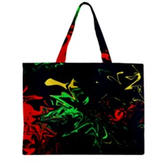Colors Zipper Mini Tote Bag by Valentinaart