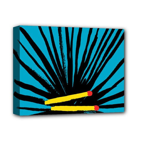 Match Cover Matches Deluxe Canvas 14  X 11  by Mariart