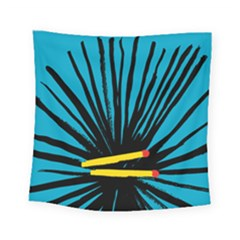 Match Cover Matches Square Tapestry (small) by Mariart