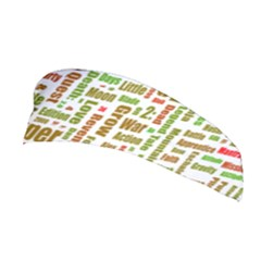 Screen Source Serif Text Stretchable Headband
