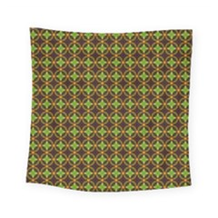 Kiwi Like Pattern Square Tapestry (small) by linceazul