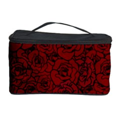 Red Roses Field Cosmetic Storage Case