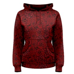 Red Roses Field Women s Pullover Hoodie