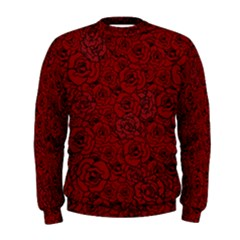 Red Roses Field Men s Sweatshirt