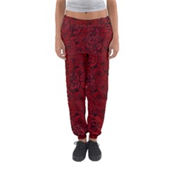 Red Roses Field Women s Jogger Sweatpants