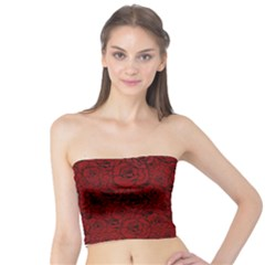 Red Roses Field Tube Top