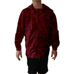 Red Roses Field Hooded Wind Breaker (kids)