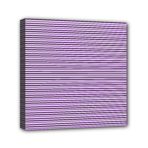 Lines Pattern Mini Canvas 6  X 6  by Valentinaart