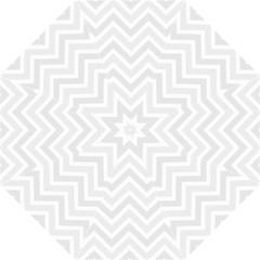 Zigzag  Pattern Straight Umbrellas by Valentinaart