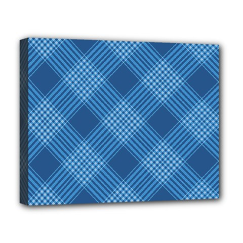 Zigzag  Pattern Deluxe Canvas 20  X 16   by Valentinaart