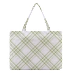Zigzag  Pattern Medium Tote Bag by Valentinaart