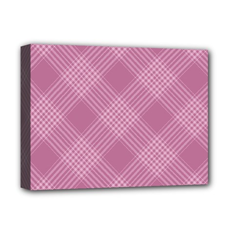 Zigzag Pattern Deluxe Canvas 16  X 12   by Valentinaart