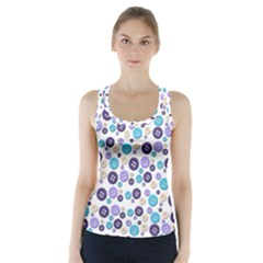 Buttons Chlotes Racer Back Sports Top