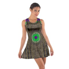 In The Stars And Pearls Is A Flower Cotton Racerback Dress