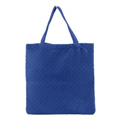 Dots Grocery Tote Bag by Valentinaart