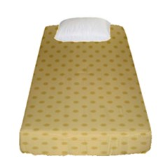 Dots Fitted Sheet (single Size) by Valentinaart