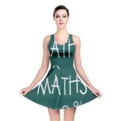 Maths School Multiplication Additional Shares Reversible Skater Dress by Mariart