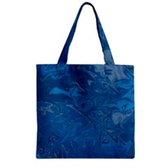 Colors Zipper Grocery Tote Bag by Valentinaart