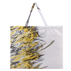 Fire Zipper Large Tote Bag