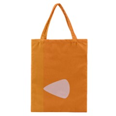 Screen Shot Circle Animations Orange White Line Color Classic Tote Bag by Mariart
