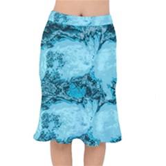 Abstraction Mermaid Skirt