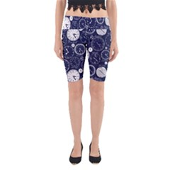 World Clocks Yoga Cropped Leggings