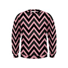 Zigzag Pattern Kids  Sweatshirt