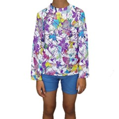 Lilac Lillys Kids  Long Sleeve Swimwear