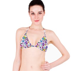 Lilac Lillys Bikini Top by designworld65