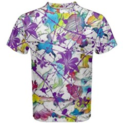 Lilac Lillys Men s Cotton Tee