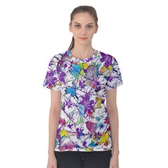 Lilac Lillys Women s Cotton Tee