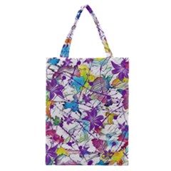 Lilac Lillys Classic Tote Bag by designworld65