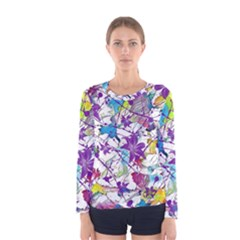 Lilac Lillys Women s Long Sleeve Tee