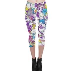 Lilac Lillys Capri Leggings