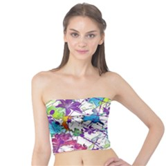 Lilac Lillys Tube Top