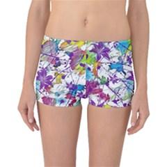 Lilac Lillys Boyleg Bikini Bottoms