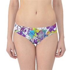 Lilac Lillys Hipster Bikini Bottoms