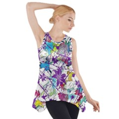 Lilac Lillys Side Drop Tank Tunic